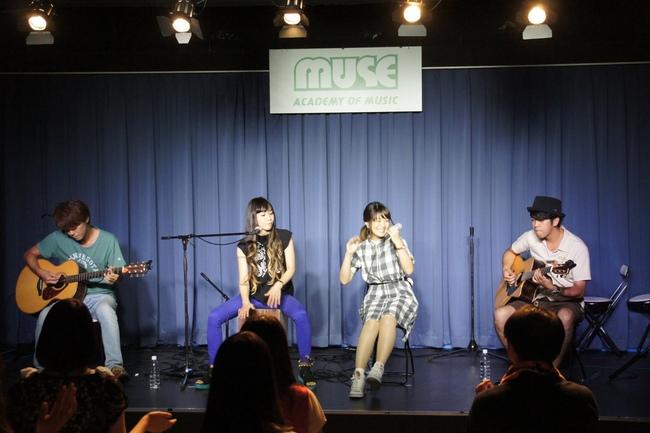 7!!が7月29日、MUSE音楽院とコラボレーションした公開講座に登場!