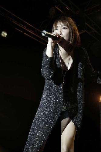 香港ライブを大成功に収めた藍井エイル