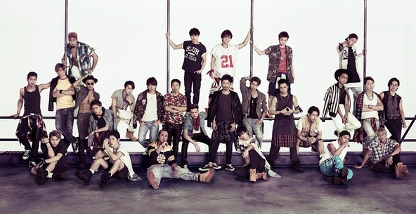 EXILE TRIBE  (okmusic UP's)