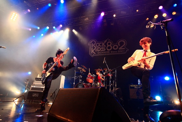 【UNISON SQUARE GARDEN】『ROCK KIDS 802-OCHIKEN Goes ON!!- SPECIAL LIVE  HIGH! HIGH! HIGH!』 (okmusic UP's)