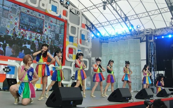 【Cheeky Parade】8月1日@お台場新大陸・新大陸ステージ (okmusic UP's)