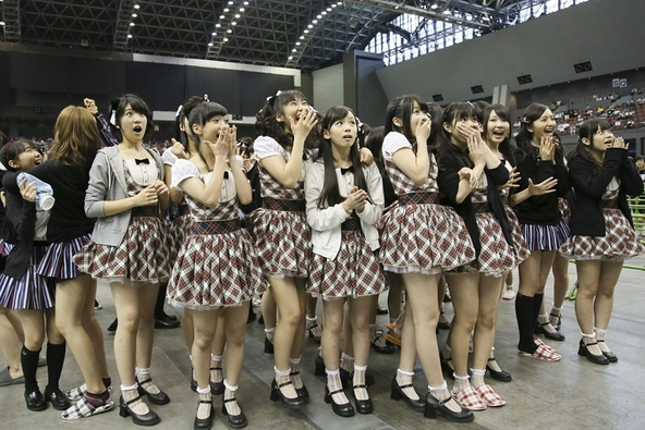 8月3日(日)@3rdシングル「桜、みんなで食べた」全国握手会イベント (okmusic UP's)