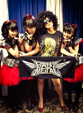 LADY GAGA&BABYMETAL (okmusic UP's)