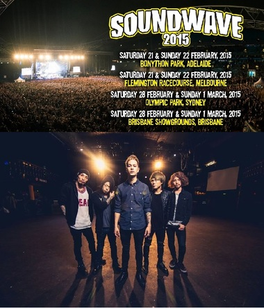 『SOUNDWAVE 2015』 (okmusic UP's)