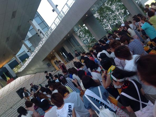 8月6日(水) @東京 ダイバーシティ東京プラザ (okmusic UP's)