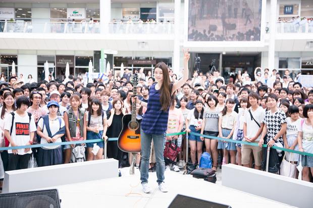 8月9日@ラゾーナ川崎プラザ2Fルーファ広場グランドステージ