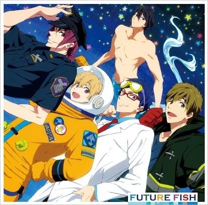 STYLE FIVE「FUTURE FISH」ジャケット画像 (C)おおじこうじ・京都アニメーション/岩鳶高校水泳部ES