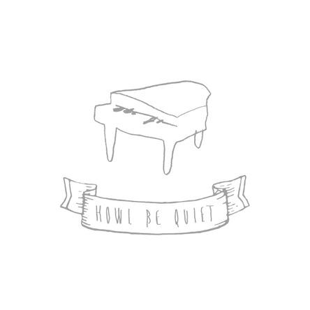 HOWL BE QUIET ロゴ (okmusic UP\'s)