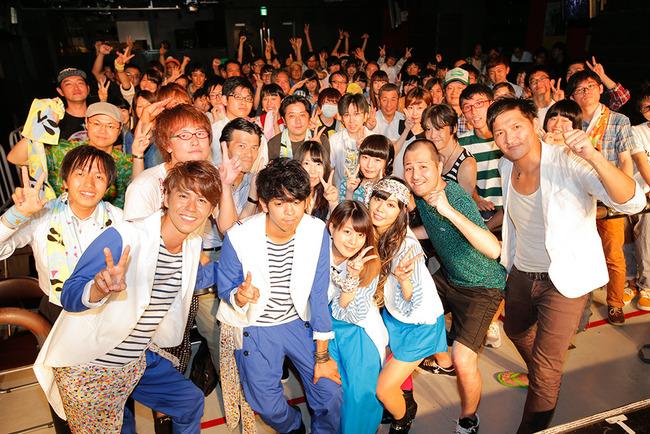8月13日@タワーレコード渋谷 B1 CUTUP STUDIO