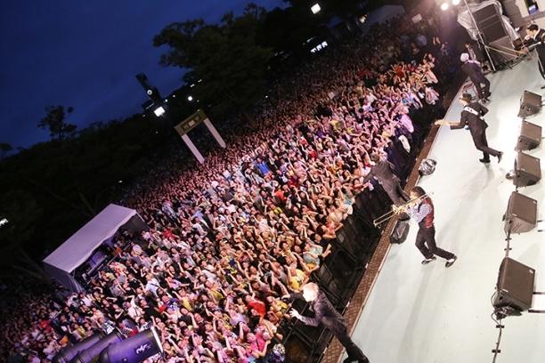 8月12日(火)@代々木公園野外ステージ
