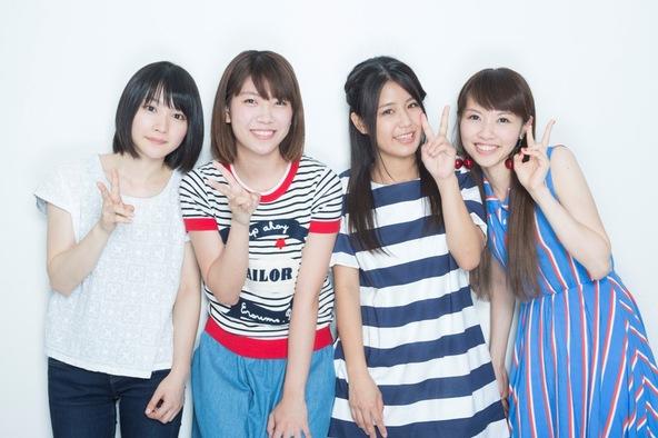 新山詩織、山崎あおい、Suzu、Saku (okmusic UP's)
