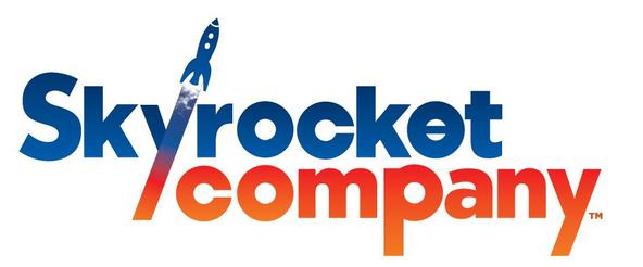 「Skyrocket Company」ロゴ (okmusic UP's)