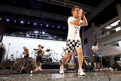 8月9日(土)@山中湖交流プラザ・「きらら」【KEMURI】 (okmusic UP's)
