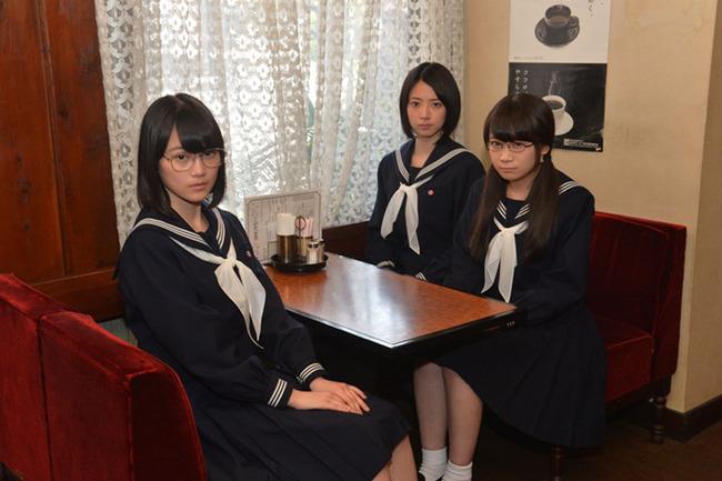 オーディションに受かった秋元真夏・生田絵梨花・橋本奈々未の3名