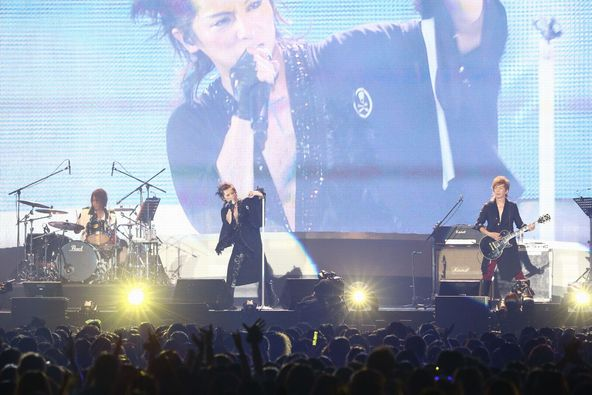 【MICHAEL】8月15日@a-nation 「ROCK NATION」 at 国立代々木競技場第一体育館(paradise stage) (okmusic UP's)