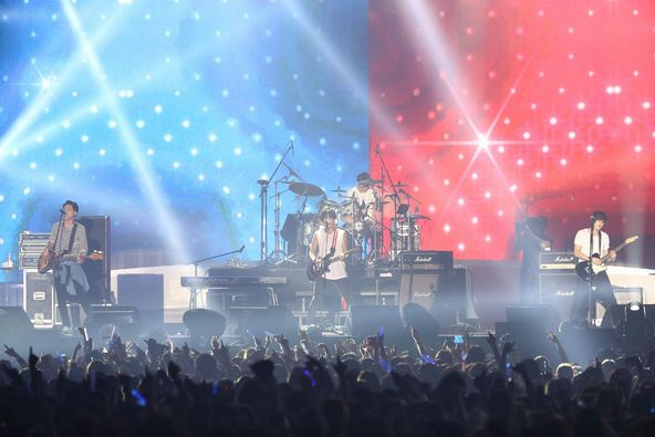 【CNBLUE】8月15日@a-nation 「ROCK NATION」 at 国立代々木競技場第一体育館(paradise stage) (okmusic UP's)