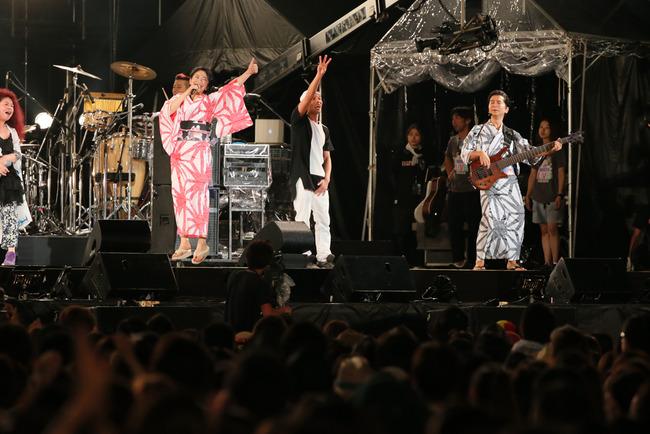 8月16日(土)@横浜赤レンガパーク (DREAMS COME TRUE)
