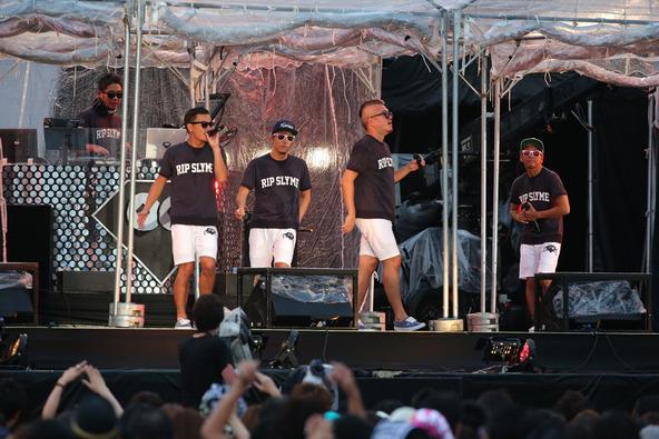 8月16日(土)@横浜赤レンガパーク (RIP SLYME) (okmusic UP's)