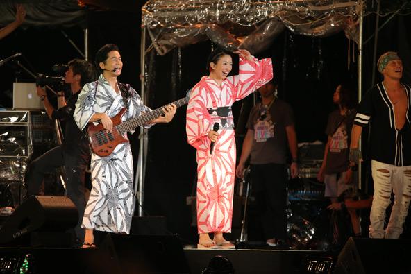 8月16日(土)@横浜赤レンガパーク (DREAMS COME TRUE) (okmusic UP's)