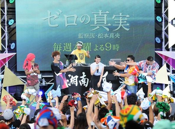 8月17日(日)@「テレビ朝日・六本木ヒルズ 夏祭りSUMMER STATION」 (okmusic UP's)