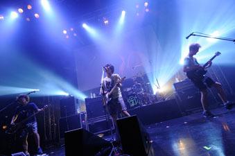 8月12日(火)@新木場スタジオコースト(KEYTALK) (okmusic UP's)