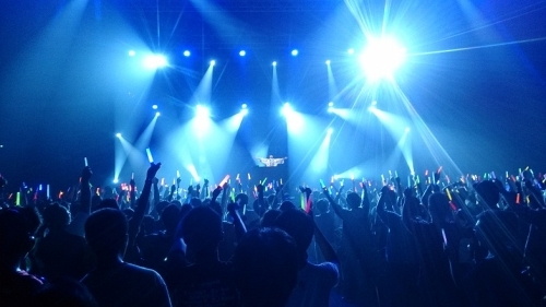 """Anime Festival Asia Indonesia 2014""での""DJ和""ステージの模様"