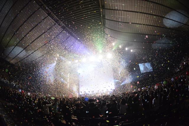 LIVE DVD & Blu-ray『one-man live 2014 at 国立代々木競技場・第一体育館』 より