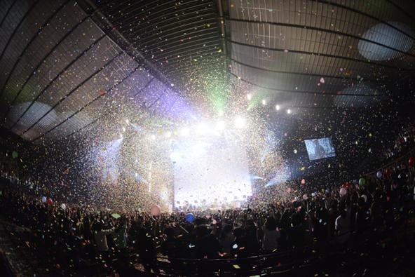 LIVE DVD & Blu-ray『one-man live 2014 at 国立代々木競技場・第一体育館』 より (okmusic UP's)