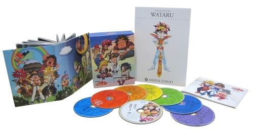 『魔神英雄伝ワタルCD-BOX ヴォーカル・コンプリート・コレクション』商品展開写真 (C)サンライズ・R