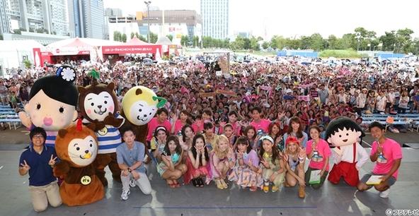 8月23日(土)@お台場新大陸 Great Summerスタジアム (okmusic UP's)