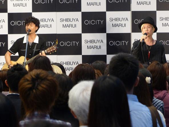 8月27日@東京・渋谷のマルイシティ渋谷1F (okmusic UP\'s)
