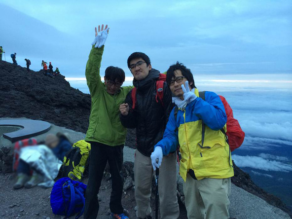 8月28日(木)~29日(金)、神聖かまってちゃん男性メンバーで富士登山を敢行 (okmusic UP's)
