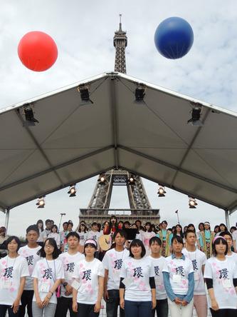 8月30日@「東北復興祭<環 WA>in Paris」 (okmusic UP's)