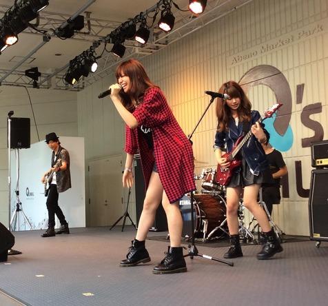 8月31日(日)@大阪・あべのキューズモール  (okmusic UP's)