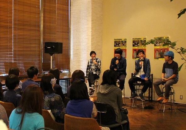 8月31日(日)@「WIRED CAFE NEWS 日本橋三井タワー」 (okmusic UP's)