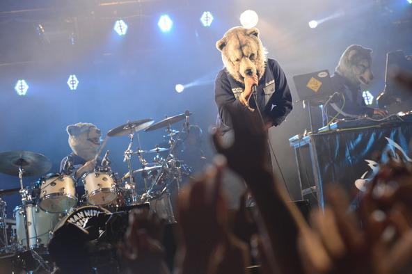 8月30日(土)@「SWEET LOVE SHOWER 2014」(MAN WITH A MISSION) (okmusic UP's)