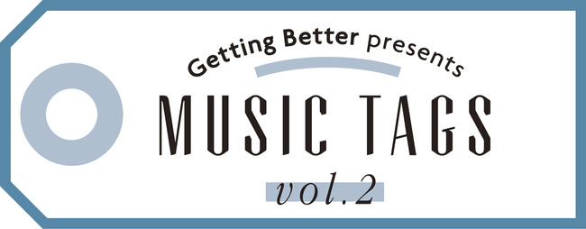 "「Getting Better presents""MUSIC TAGS vol.2""~バンド戦国時代~」ロゴ"