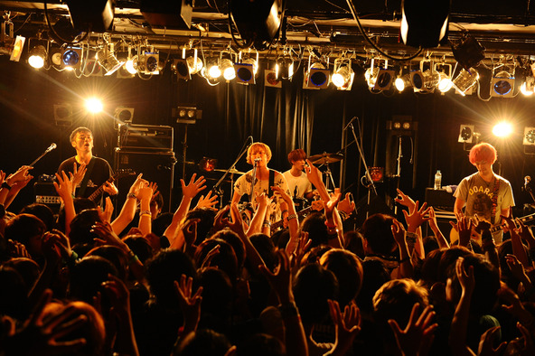 9月9日@TSUTAYA-O Crest(04 Limited Sazabys) (okmusic UP's)