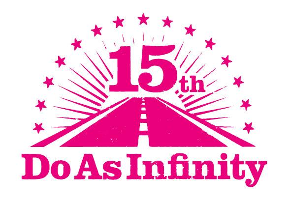 デビュー15周年記念ロゴ (okmusic UP's)