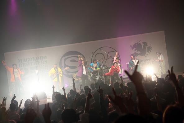 9月13日(土)@日本青年館(真心ブラザーズ×フラワーカンパニーズ) (okmusic UP's)