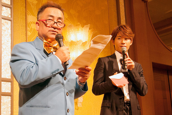 「DAISUKEファミリー設立1周年記念ランチ・パーティ in ザ・リッツ・カールトン東京」 (okmusic UP's)
