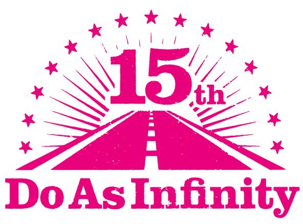 デビュー15周年ロゴ (okmusic UP's)