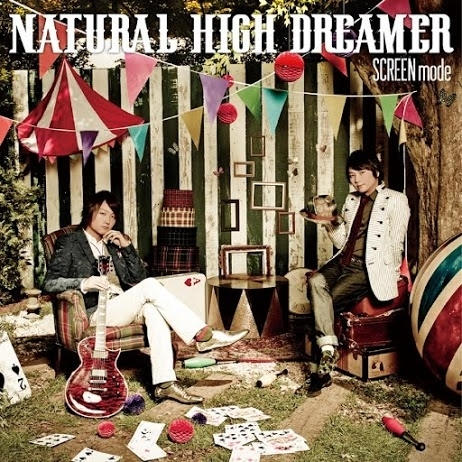 SCREEN mode『NATURAL HIGH DREAMER』ジャケット画像