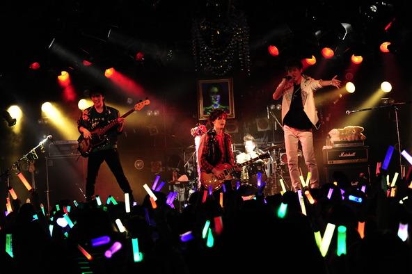 10月3日(金)、東京・渋谷区の渋谷クラブクアトロ (okmusic UP's)