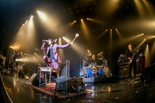 10月4日@赤坂BLITZ(MERRY) (okmusic UP's)