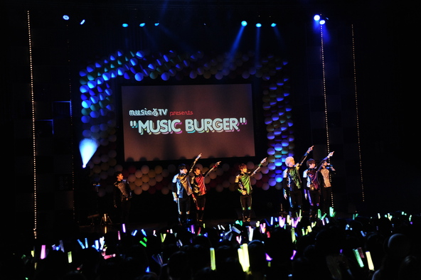 10月12日@「musicるTV presents MUSIC BURGER」 (okmusic UP's)
