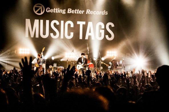 10月17日(金)@『MUSIC TAGS Vol.2~バンド戦国時代~』(go!go!vanillas) (okmusic UP's)