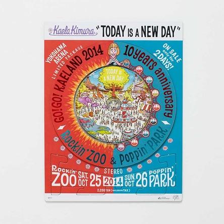 シングル「TODAY IS A NEW DAY」【『GO!GO!KAELAND 2014-10years anniversary-』横浜アリーナ会場限定盤】 (okmusic UP's)
