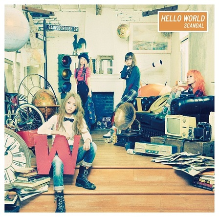 アルバム『HELLO WORLD』【通常盤】(CD) (okmusic UP's)