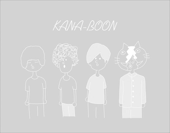 「奥義!KANA-BOON超合体BOX」クリアケース(裏) (okmusic UP's)